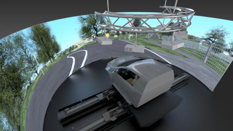 AB Dynamics aVDS simulator