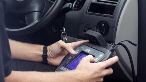 Capturing a car's data