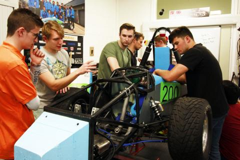 Microlease has supplied the University of Bath with test equipment to support its Formula Student 2017 team