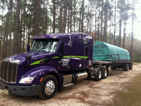 Cypress Truck Lines is using SmartDrive to improve driver safety