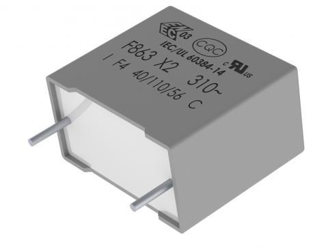 Kemet metallised polypropylene film capacitor