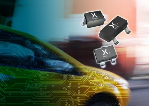 Nexperia in-vehicle network protection diodes