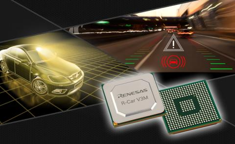 Renesas R-Car V3M image recognition SoC