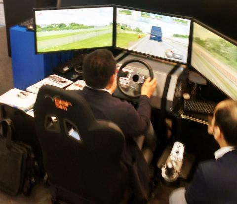 RFPro and Concurrent demo adas development at JSAE Expo
