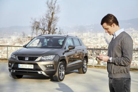 Seat predicts stronger links between mobile phones and vehicles