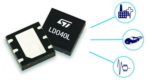 LDO40L 400mA low-dropout linear regulator from ST Microelectronics