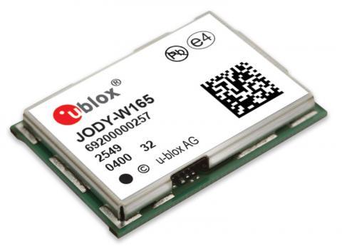 U-Blox Jody-W1 automotive-grade module