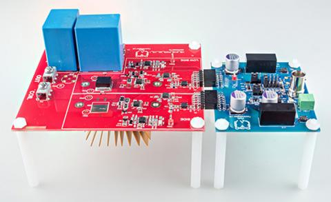 Visic evaluation board for GaN transistors