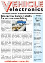Vehicle Electronics April 2016 cover