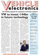 Vehicle Electronics December 2018 cover