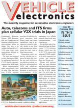 Vehicle Electronics February 2018 cover