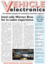 Vehicle Electronics January 2018 cover