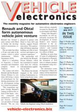 Vehicle Electronics cover July 2017