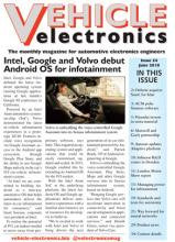 Vehicle Electronics June 2018 cover