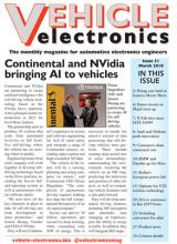 Vehicle Electronics March 2018 cover