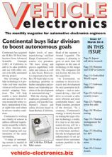 Vehicle Electronics March 2016 cover