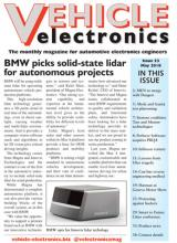Vehicle Electronics May 2018 cover