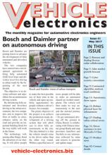 Vehicle Electronics cover May 2017