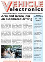 Vehicle Electronics November 2017 cover