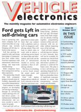 Vehicle Electronics cover October 2017