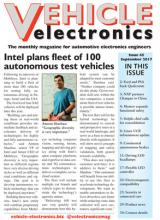 Vehicle Electronics cover September 2017