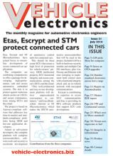 Vehicle Electronics cover July 2016