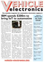Vehicle Electronics cover October 2016