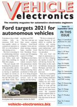 Vehicle Electronics cover September 2016