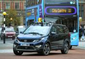 Autonomous vehicle trial in Coventry