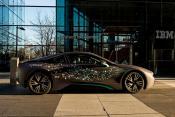 BMW outside IBM's Munich headquarters