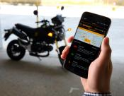 Continental's eHorizon system for motorbikes