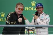 Elton John congratulates Lewis Hamilton on winning the title