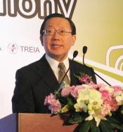 David Hsu, speaking at Autotronics this morning