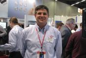 Greg Robinson at Embedded World