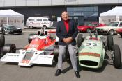Sir Stirling Moss will lead the cavalcade