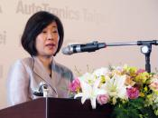 Wen-Jo Kiang at the Taipei Ampa opening ceremony
