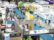Part of the Autotronics exhibition