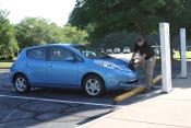 EV charging station in Georgia, USA