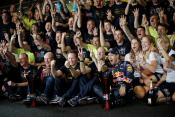 Red Bull celebrate a winning season (Photo from Renault)