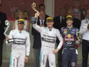 Lewis Hamilton puts on a brave face at Monaco while Nico Rosberg and Daniel Ricciardo are all smiles