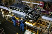 Car manufacturing is growing in the UK