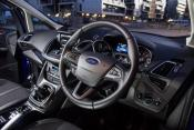 There is high growth in cockpit electronics as seen from the inside of Ford's C-Max