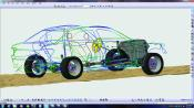 LMS Virtual.Lab Motion is used for CAE-based durability road loads calculation