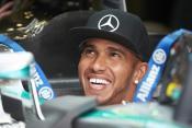Lewis Hamilton was all smiles again in Belgium