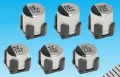 Panasonic high vibration acceleration-resistant, conductive-polymer hybrid aluminium electrolytic capacitors