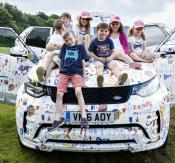 Jaguar Land Rover used children to camouflage the Discovery ahead of its launch