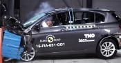 Fiat Tipo's frontal offset impact test